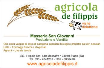 Agricola de filippis